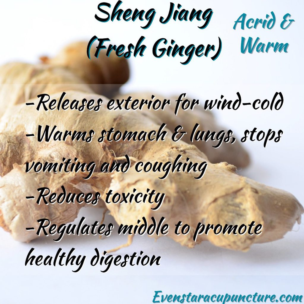 Fresh Ginger- Chinese herbs found in your home and garden